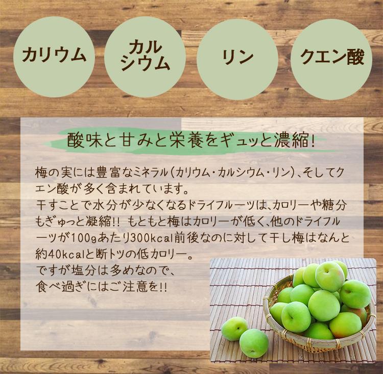 干し梅の栄養素