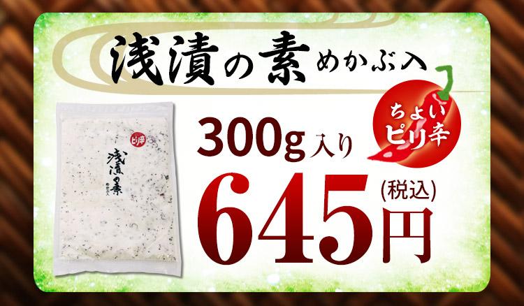 浅漬けの素 300g