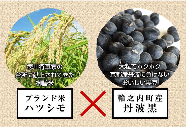 ハツシモと丹波黒