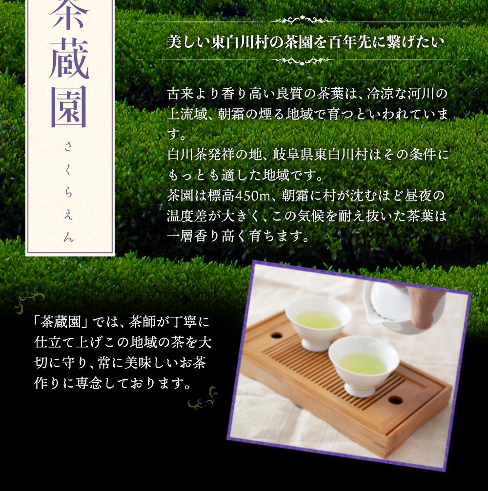 白川茶高級煎茶 天皇杯100g入り