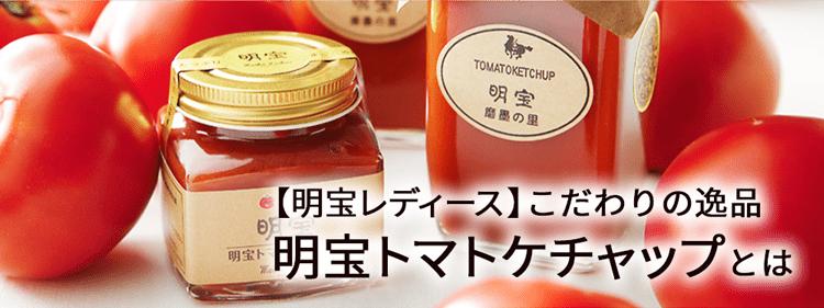 明宝トマトケチャップとは