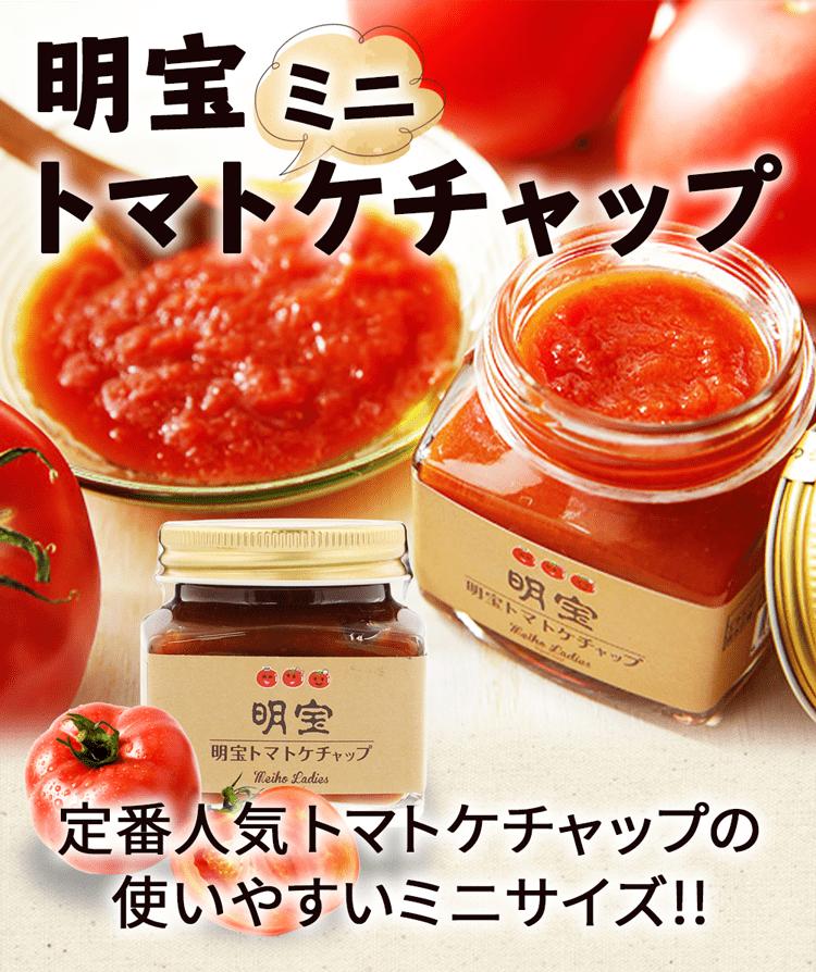 明宝トマトケチャップミニ