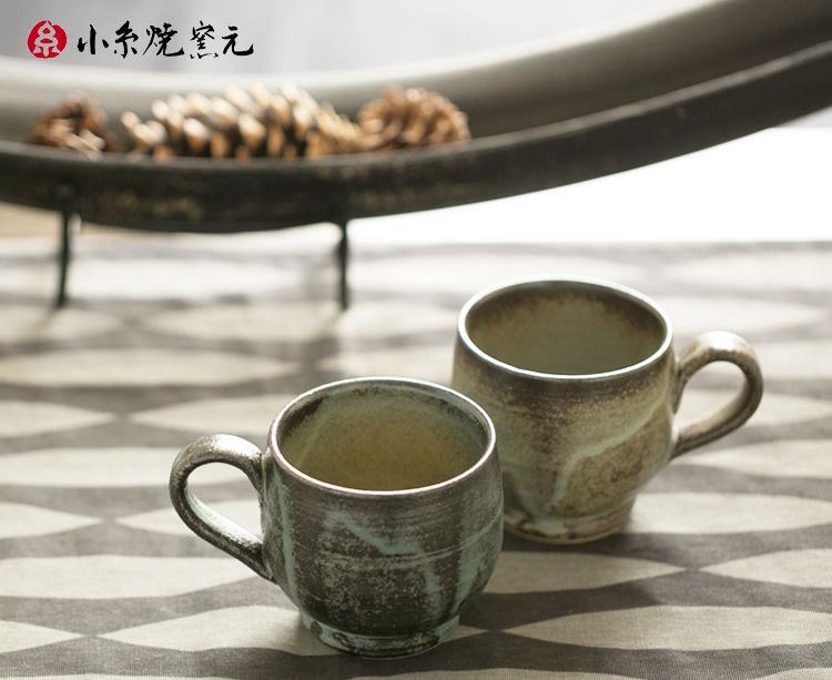 小糸焼 マグカップ