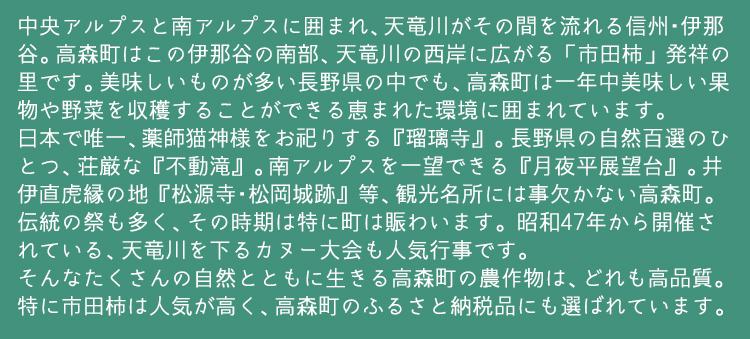 長野県高森町とは