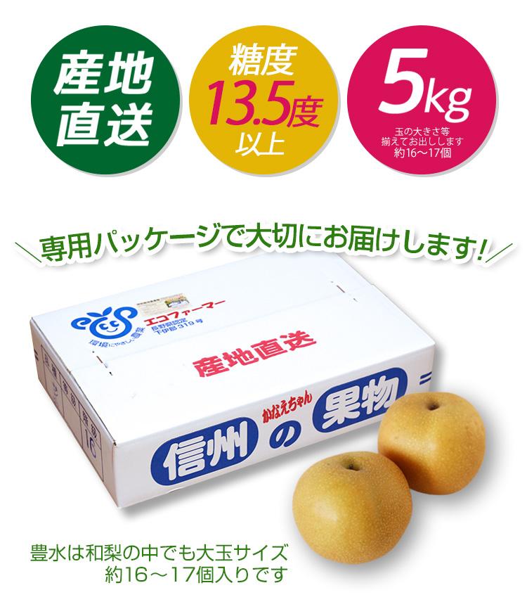 かなえちゃん農園 豊水梨
